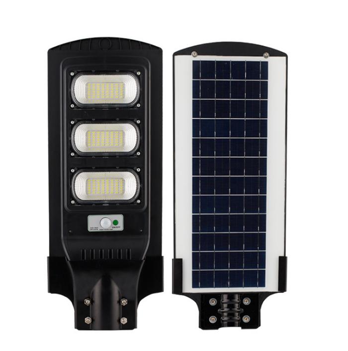 Human Body Induction 50W 100W 150W LED Solar Street Light