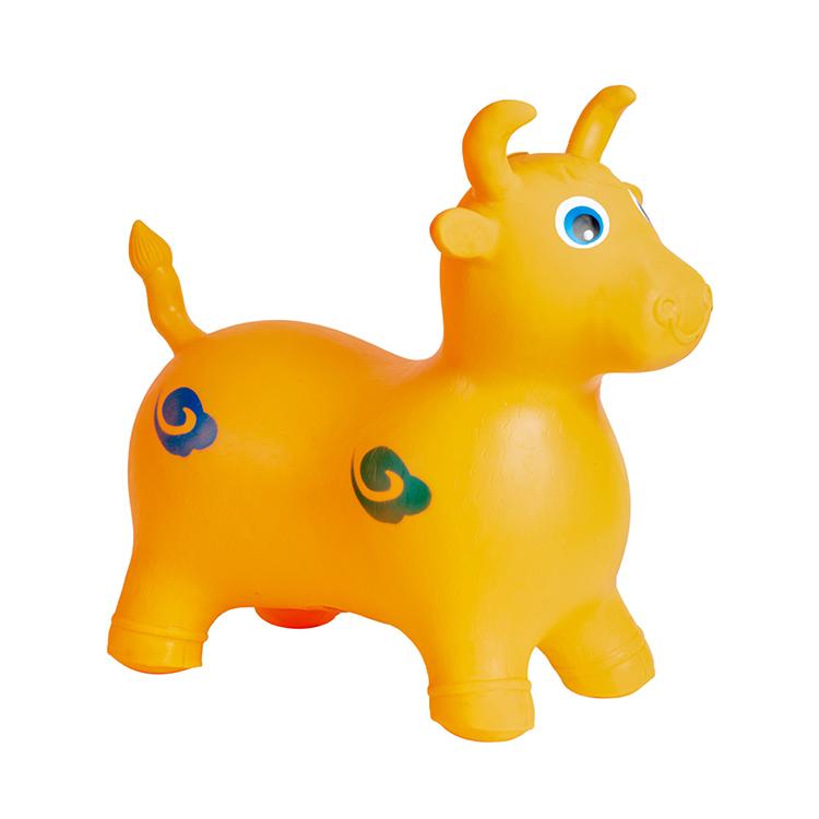 New Baby Shake Horse PVC Children′s Horse Musical Baby Toy Horse Shake Wholesale