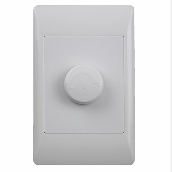 Factory Direct Wholesale Household White Light Adjustment Wall Switch