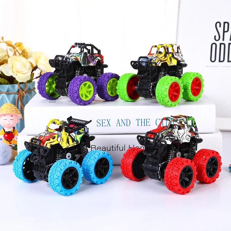 Wholesale Innovation Four-Wheel-Drive Vehicle Kids Children Simulation Stunt Model Car Toy