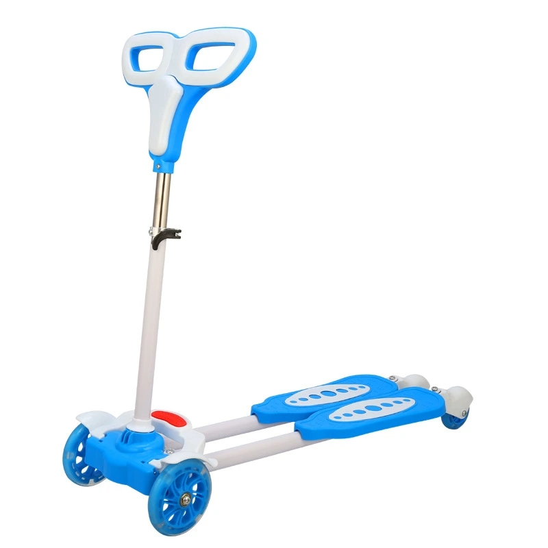 Hot Selling Cheap Kids Scooter/En 71 Popular Design Children Kick Scooter for Child/European 4 Wheel Scooters Baby Toys