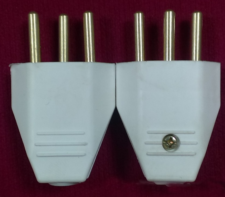 Wholesale China Factory Direct Sale Household Power Three-Pin Electrical Plug