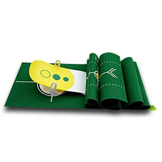 Manufacturers Wholesale Folding Golf Mat Golf Sport Training Aid Swing Trainer Golf Training Accessories