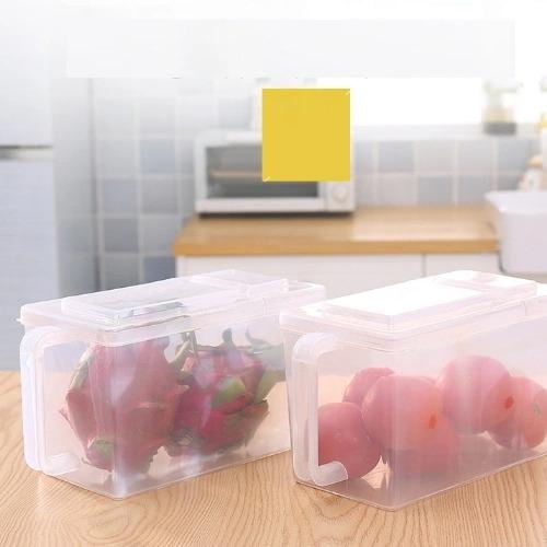 Kitchen Convenient Refrigerator Storage Box Stackable Plastic Storage Container Hc-1522