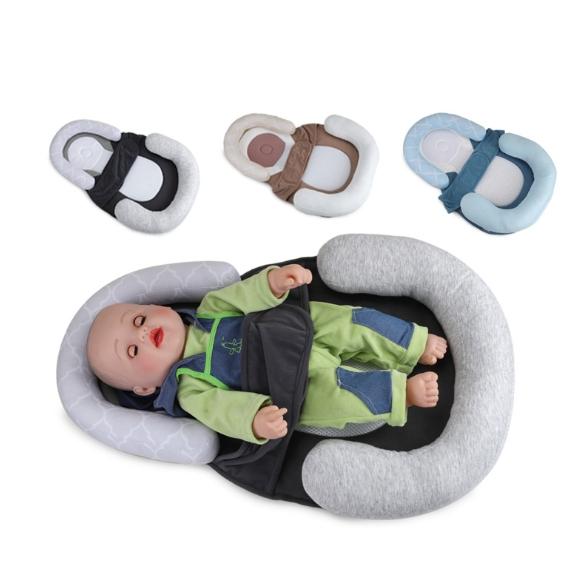 Manufacturer Spot Wholesale Baby Positioning Cushion Sleeping Cushion Against Biased Head Cushion Baby Positioning Cushion