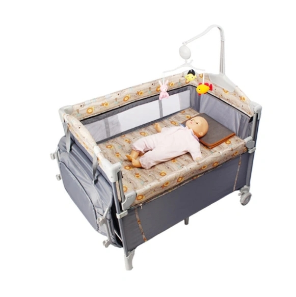 Baby Furniture Bedside Baby Sleeping Basket Manufacturer Wholesale Multi-Function Crib Baby Mobile Bed