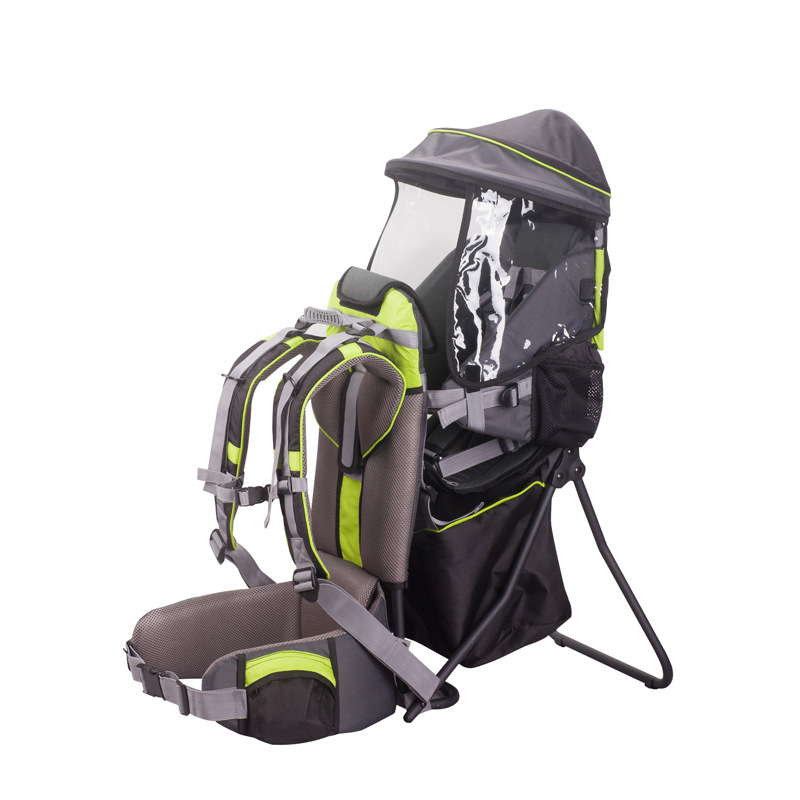 Baby Back Chair with Child Strap Can Be Customized for Baby to Travel on The Back Frame Can Be Folded Lightweight Baby Backpack Carrier