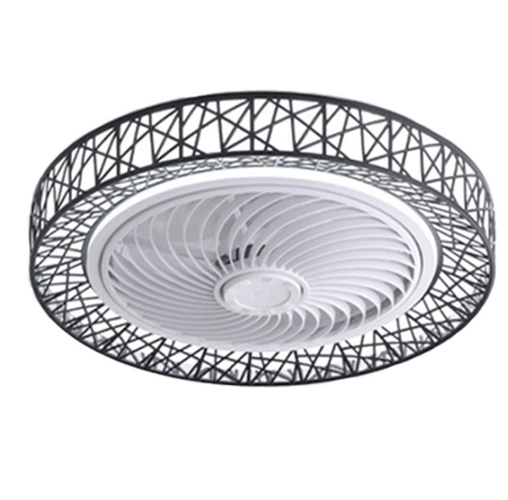 New Style Adjustable Brightness and Bird′s Nest Shape Remote Control Fan Ceiling Lamps