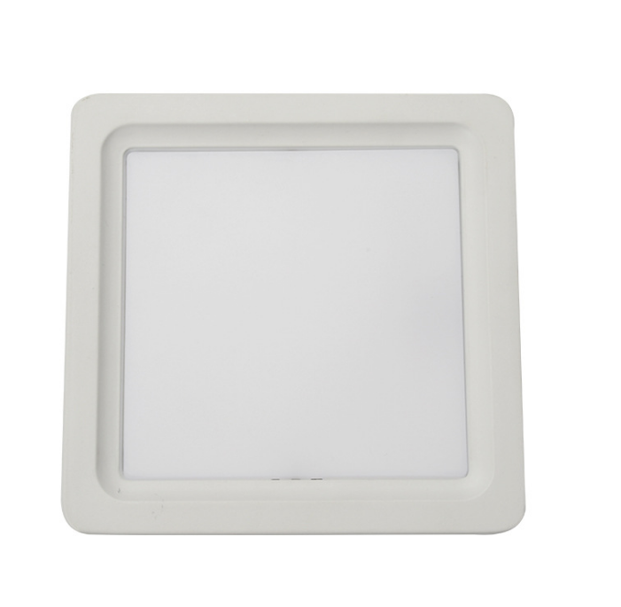 6W 12W 15W 18W 24W Embedded aluminum ceiling LED panel lamps for wholesale