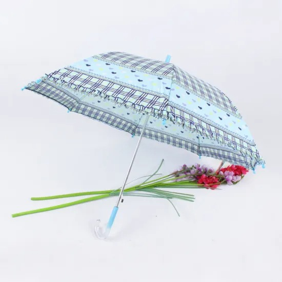Rainbow Automatic Straight Rod Umbrella / 16K Automatic Straight Golf Umbrella