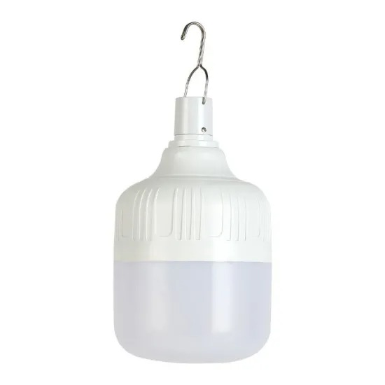 Outdoor Household Hanging Emergency Rechargeable LED Lamp Light Bulb with Button Control