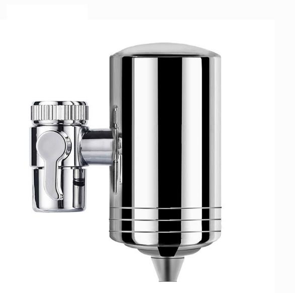 304 Stainless Steel Household Tap Water Purifier with Ceramic Filter