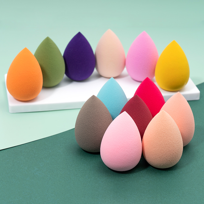 Hydrophilic Non-Latex Makeup Air Cushion Sponge Wet and Dry Water Drop Puff Beauty Blender