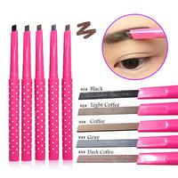 Cosmetic Eyebrow Shaping Liner Pen Eye Makeup Natural Waterproof Rotating Automatic Eyebrow Pencil