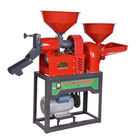 Small automatic multifunction home use electric corn combination rice mill